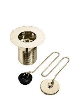 Bristan Luxury Kitchen Sink Waste With Brass Plug Gold