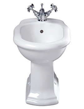 Imperial Bergier Floor Standing Bidet With 1 Tap Hole