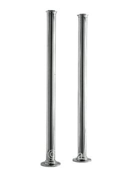 Nuie Premier Standpipes 660mm x 40mm Freestanding Legs