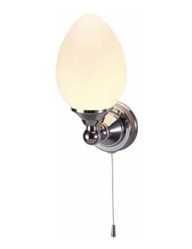Burlington Edwardian Single Eliptical Light With Pull Cord