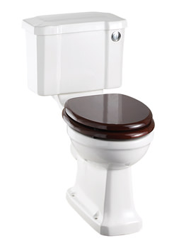 Regal Close Coupled WC Slimline With Front Button Cistern
