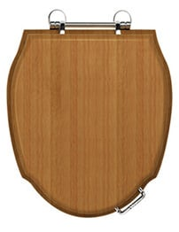 Toilet Seats Acrylic And Wooden Soft Close Toilet Seats