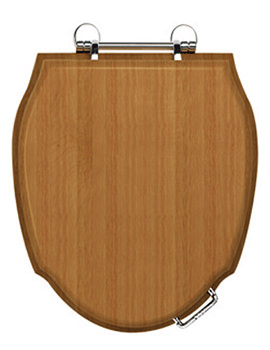 Imperial Westminster Toilet Seat With Standard Chrome Hinge