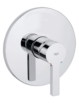 Grohe Lineare Concealed Shower Mixer Valve Trim With Metal Handle