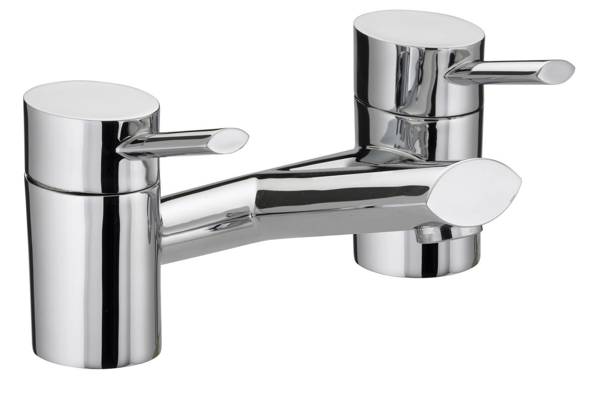 Chrome Bristan Kitchen Taps: Bristan Oval Chrome Plated Bath Filler Tap