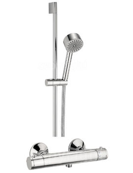 Crosswater Kai Lever Exposed Thermostatic Valve With 1 Mode Shower Kit
