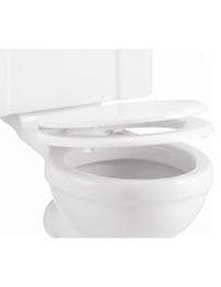 Burlington Gloss White Soft Close Toilet Seat