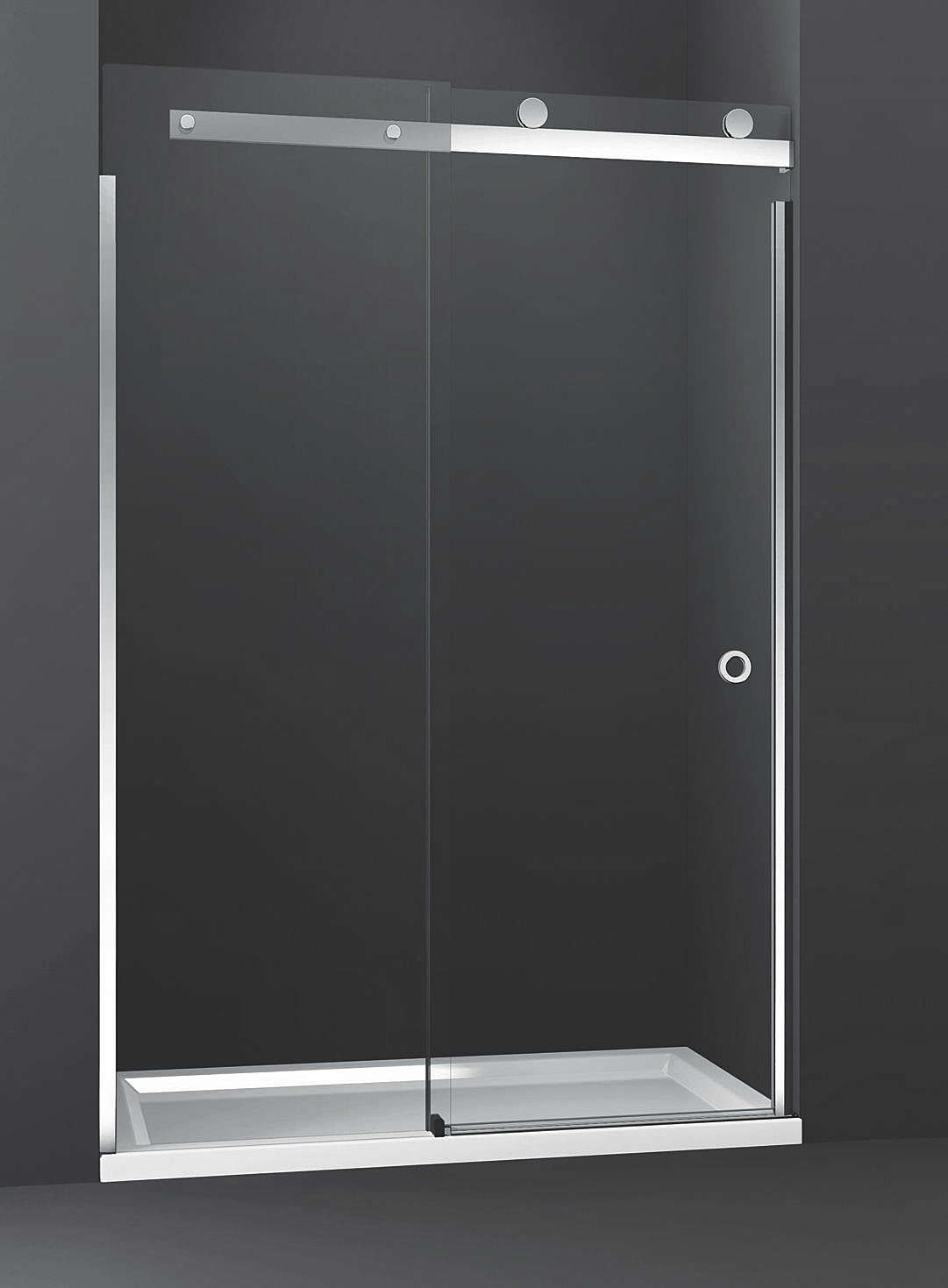 Merlyn 10 series sliding shower door 1200mm for 1200mm shower door sliding