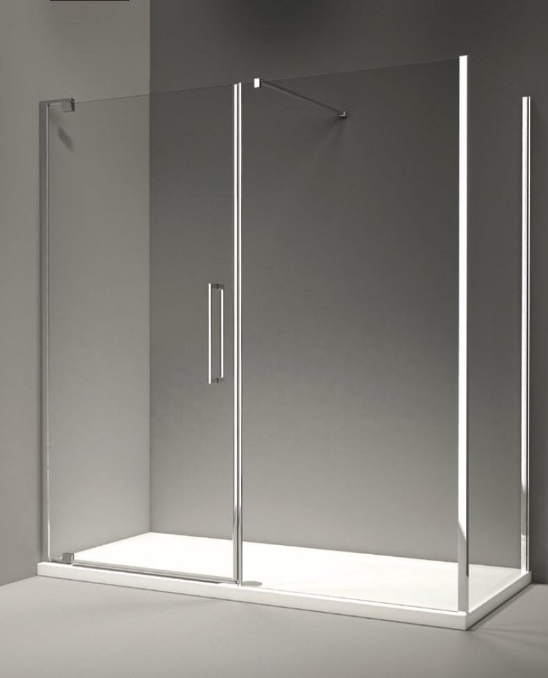 Merlyn 10 series pivot door and inline panel 1200mm for 10 panel glass door