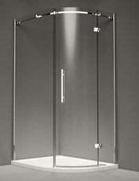 Merlyn 9 Series 1 Door Offset Quadrant Enclosure 900 x 760mm RH