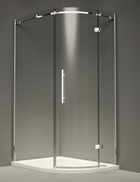 Merlyn 9 Series 1 Door Offset Quadrant Enclosure 1000 x 800mm
