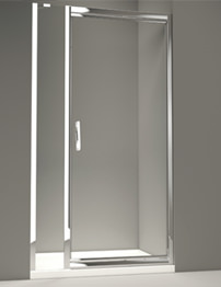 Merlyn 8 Series Infold Door And 2 Inline Panel 1200mm
