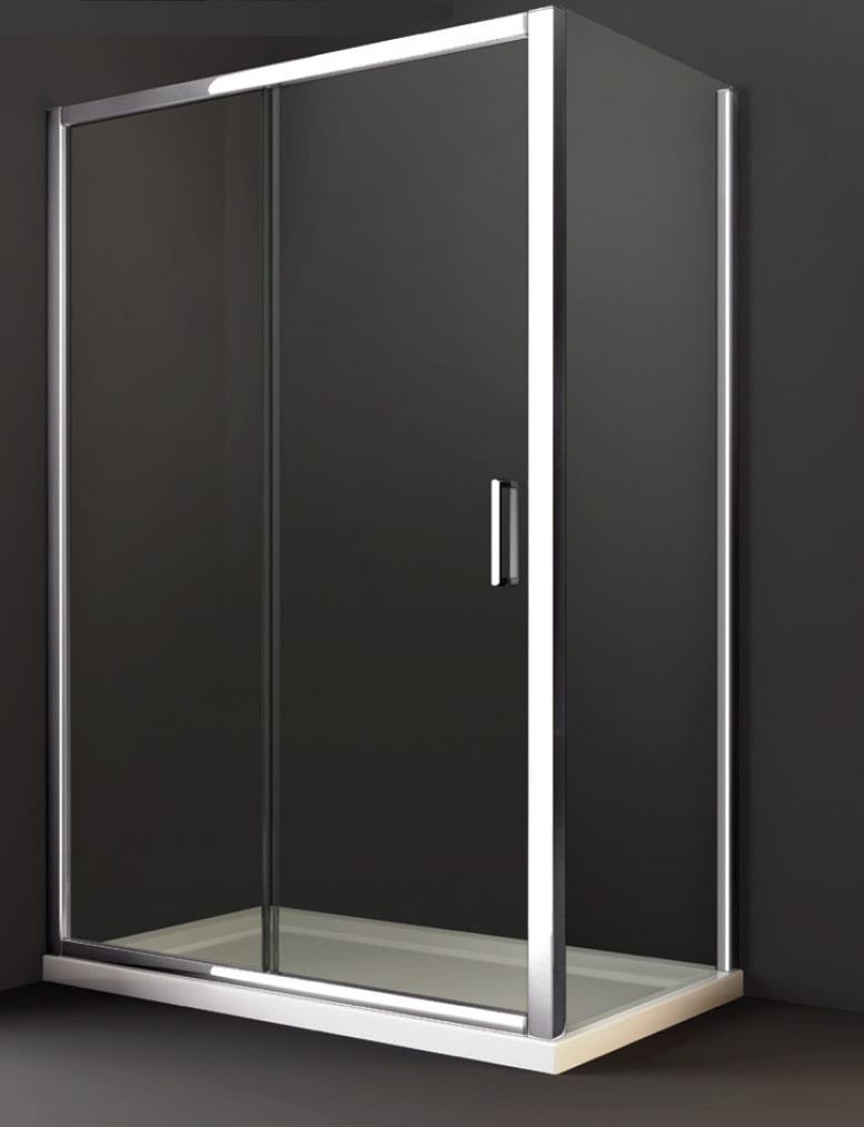 Merlyn 8 series sliding shower door 1200mm for 1150mm shower door