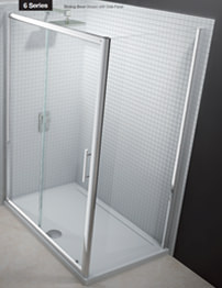 Merlyn 6 Series Sliding Shower Door 1700mm