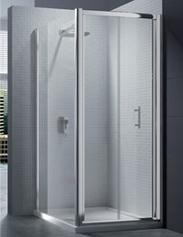 Merlyn 6 Series 4mm Clear Glass Bi-Fold Shower Door 900mm