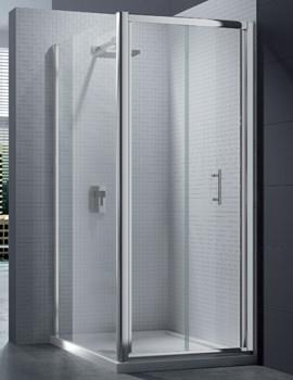 Merlyn 6 Series 4mm Clear Glass Bi-Fold Shower Door 900mm