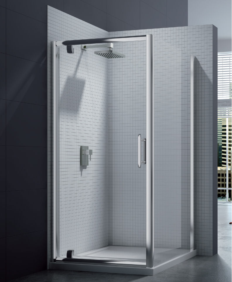 Merlyn 6 Series Pivot Shower Door 760 800mm