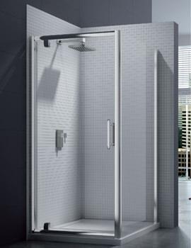 Merlyn 6 Series 1000 x 1900mm Pivot Shower Door