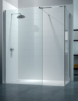 Merlyn 8 Series 1400 x 900mm Walk In Enclosure With End Panel