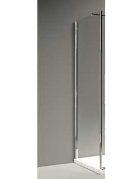 Merlyn 10 Series Clear Glass Side Panel 900 x 2030mm