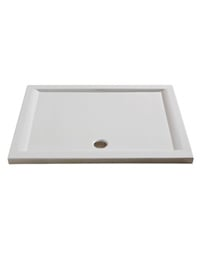Merlyn Merlyte Rectangular Shower Tray 1000 x 800mm