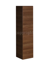 Bauhaus Elite Walnut Finished Tower Storage Unit