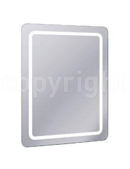 Bauhaus Celeste Back Lit Mirror 600 X 800MM With Deimister Pad