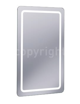 Bauhaus Celeste Back Lit Mirror 600 x 1000mm