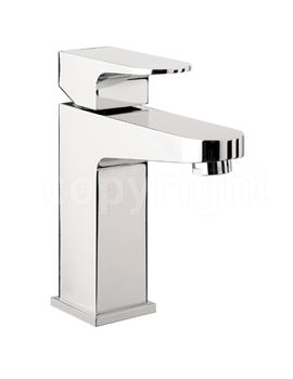 Crosswater Modest Monobloc Basin Mixer Tap Chrome