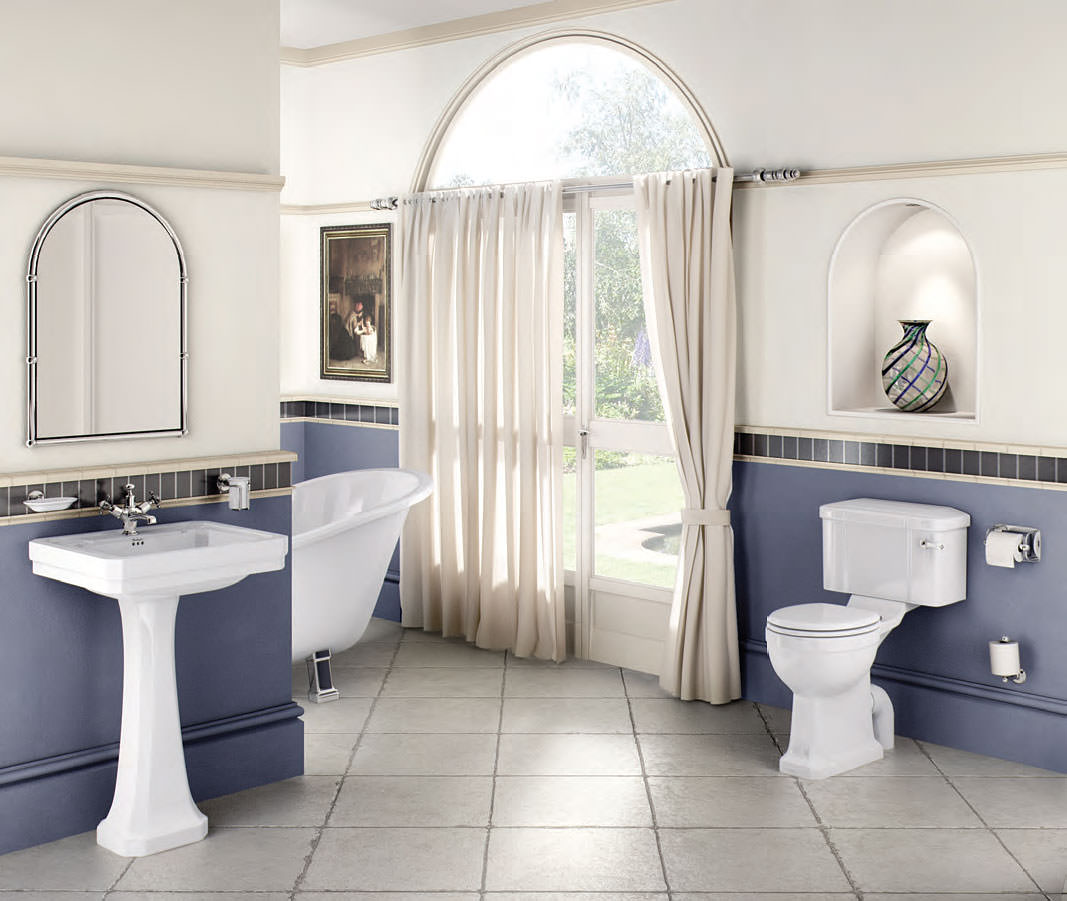 Burlington regal bathroom suite for Bathroom ideas com