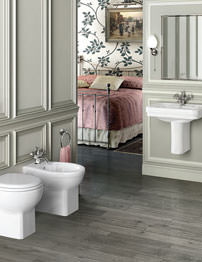 Burlington Wall Hung Cloakroom Suite