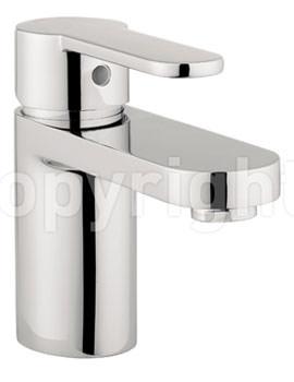 Crosswater Central Monobloc Basin Mixer Tap Chrome