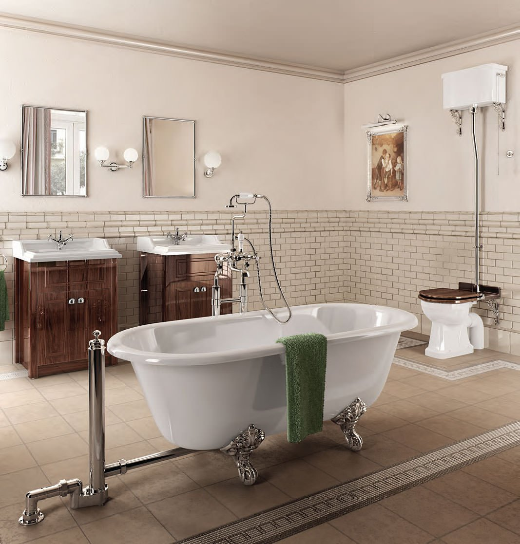 Burlington classic bathroom suite for Bathroom ideas edwardian