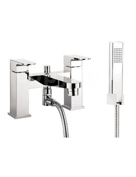 Crosswater Modest Bath Shower Mixer Tap with Kit Chrome