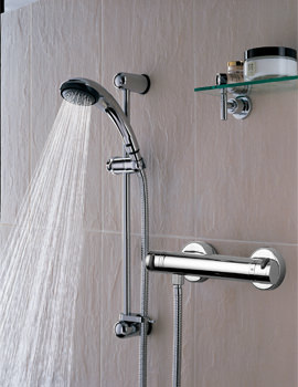 Bristan Artisan Thermostatic Bar Shower Valve With Riser Kit