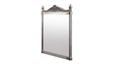 Mirror With Polished Aluminium Frame