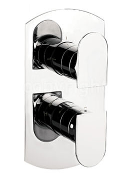 Crosswater Modest Thermostatic Shower Valve With 2 Way Diverter