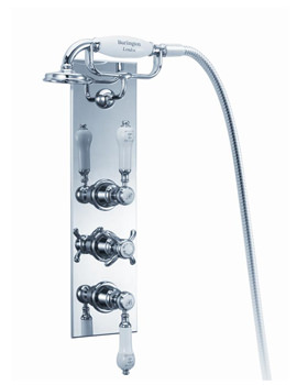 Clyde Concealed Thermostatic Valve With Cradle And Anglesey Handle