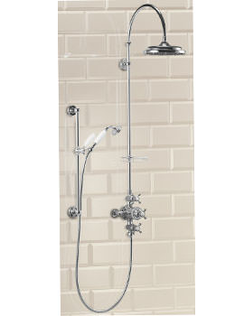 Burlington Avon Exposed Shower Valve And Kit With 9 Inch Rose