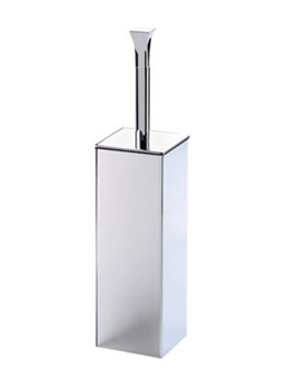 Imperial Highgate Brass Toilet Brush Holder With Base Chrome