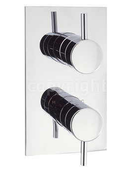 Crosswater Elite Recessed Thermostatic Shower Valve Chrome