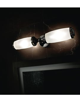 Imperial Toledo Double Wall Light And Glass Shade