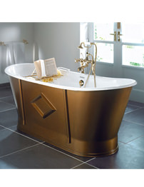 Imperial Westbury Cast Iron Freestanding Luxury Bath 1700 x 725mm