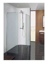 Simpsons Design 1200mm Semi-Frameless Walk In Panel