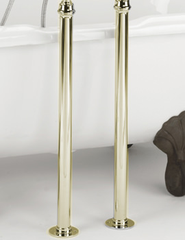 Bristan Gold Free-Standing Bath Shroud Covers
