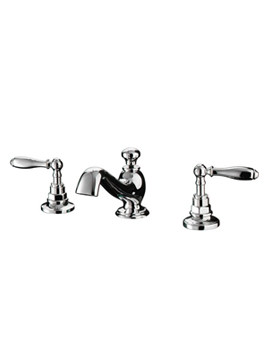 Imperial Vuelo 3 Hole Basin Mixer Tap