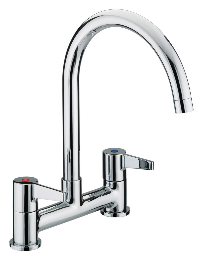Kitchen Sink Mixer ~ Bristan design utility lever kitchen deck mounted sink