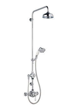 Mira Montpellier Thermostatic Mixer Shower With 6 Inch Deluge Head