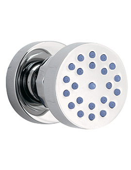 Phoenix Design Round Shower Body Jet Chrome