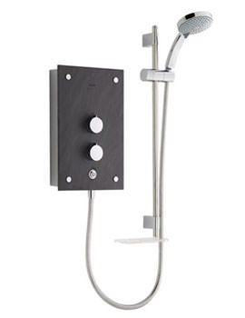 Mira Galena 9.8kW Thermostatic Electric Shower - Slate